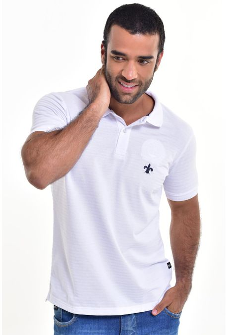 Polo-QUEST-Slim-Fit-162016079-Blanco-1