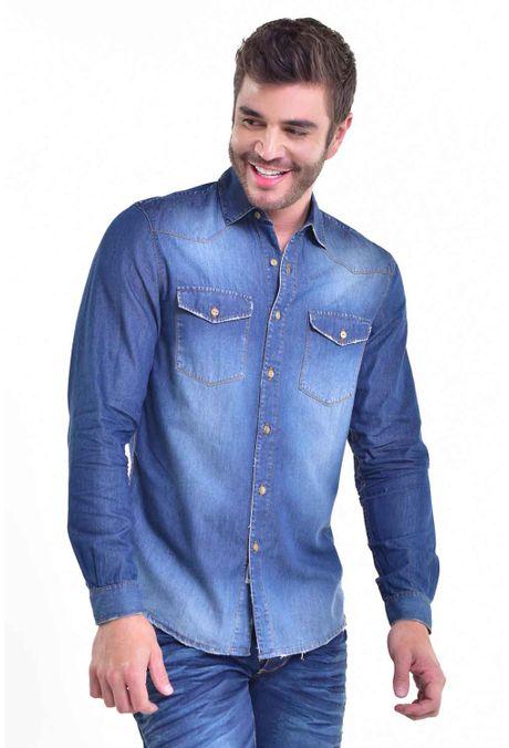Camisa-QUEST-Custom-Fit-111017028-Azul-Oscuro-1