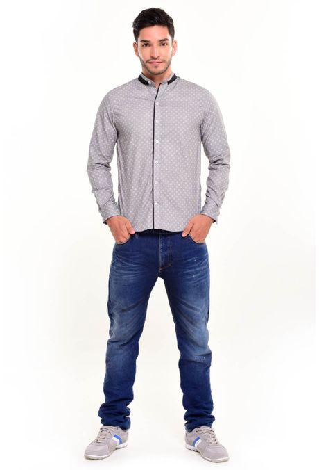 Camisa-QUEST-Slim-Fit-111016156-Gris-Cemento-1