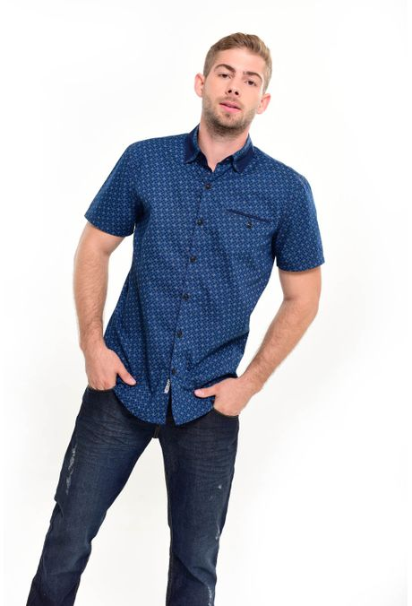 Camisa-QUEST-Custom-Fit-111016163-Azul-Oscuro-1