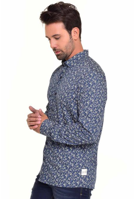 Camisa-QUEST-Custom-Fit-QUE111170049-Azul-Oscuro-2