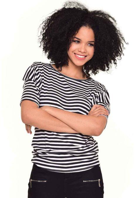 Camiseta-QUEST-QUE212170051-Negro-1