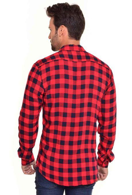 Camisa-QUEST-Custom-Fit-QUE111170062-Rojo-2