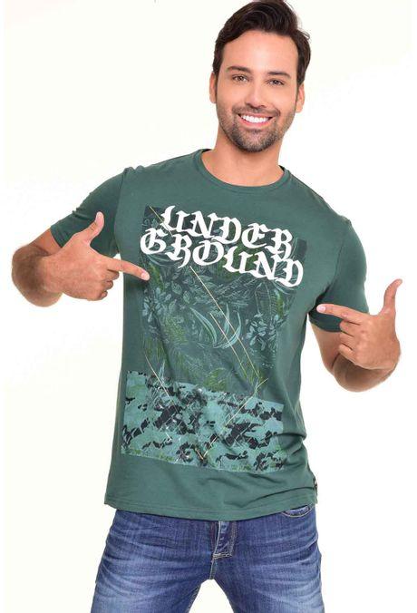 Camiseta-QUEST-Original-Fit-QUE112170038-Verde-Botella-1