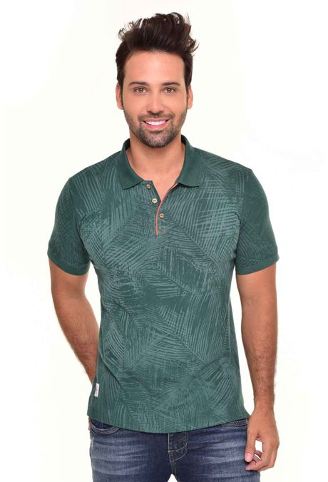 Polo-QUEST-Slim-Fit-QUE162170016-Verde-Militar-1