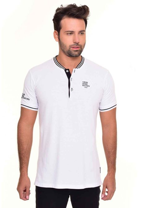 Polo-QUEST-Slim-Fit-QUE162170028-Blanco-1