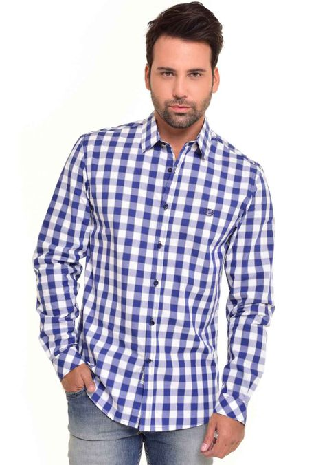 Camisa-QUEST-Custom-Fit-QUE111170042-Azul-Oscuro-1