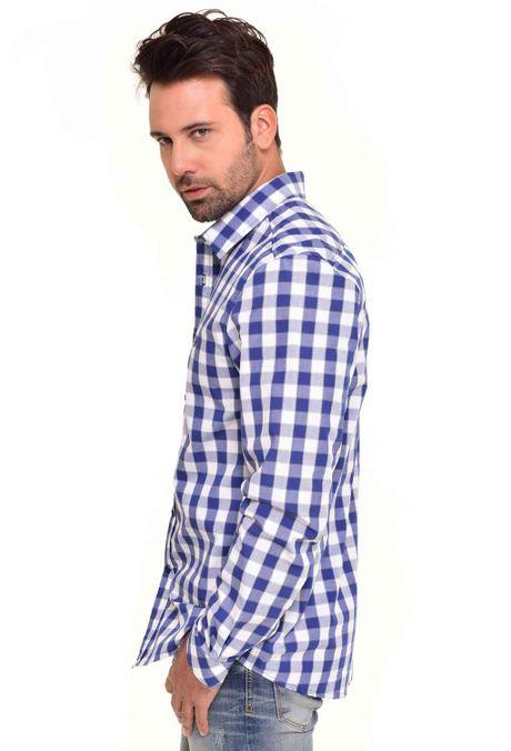 Camisa-QUEST-Custom-Fit-QUE111170042-Azul-Oscuro-2