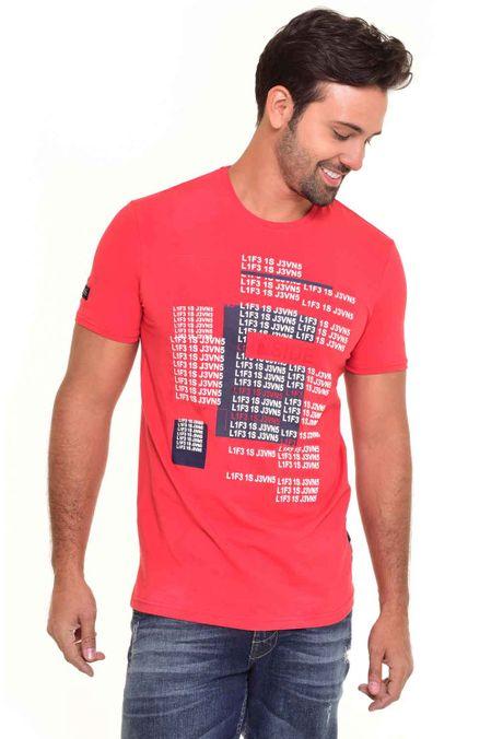Camiseta-QUEST-Slim-Fit-QUE112170080-Rojo-1
