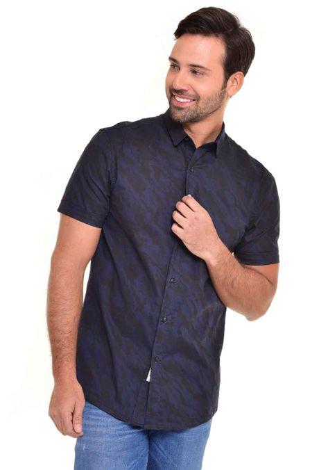 Camisa-QUEST-Slim-Fit-QUE111170028-Azul-Noche-1