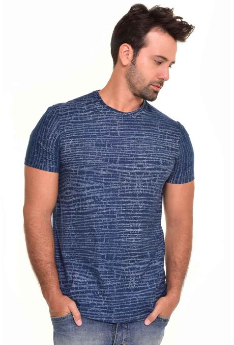 Camiseta-QUEST-Slim-Fit-QUE163170023-Azul-Oscuro-1