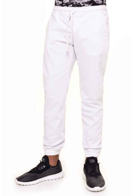 Pantalon-QUEST-Jogg-Fit-QUE309170001-Blanco-1