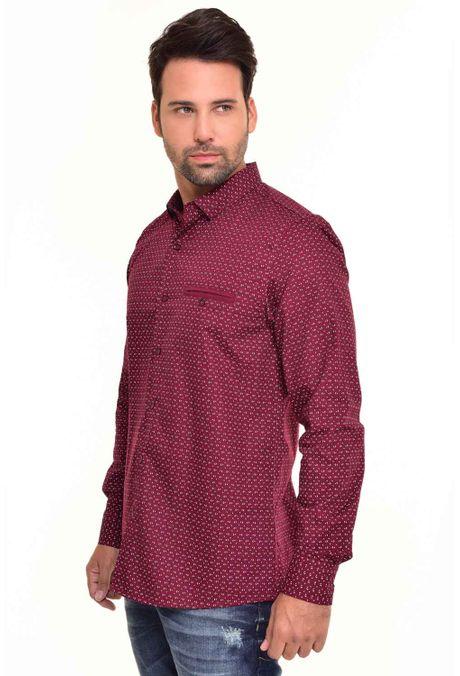 Camisa-QUEST-Custom-Fit-QUE111170083-Vino-Tinto-2