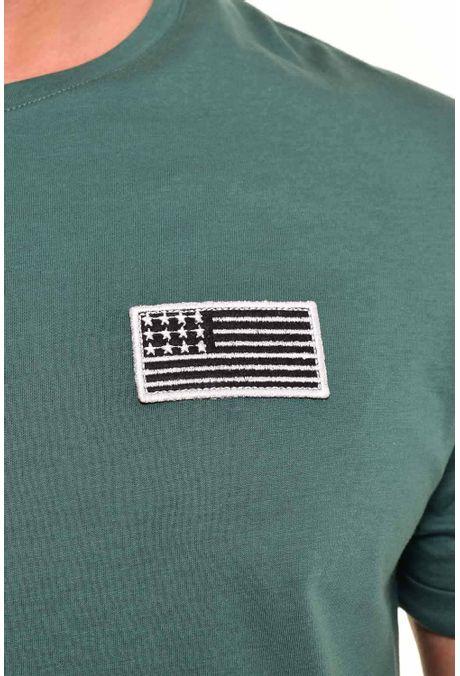 Camiseta-QUEST-Original-Fit-QUE112170092-Verde-Botella-2