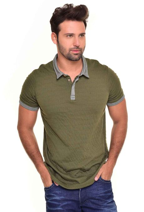 Polo-QUEST-Original-Fit-QUE162170042-Verde-Militar-1