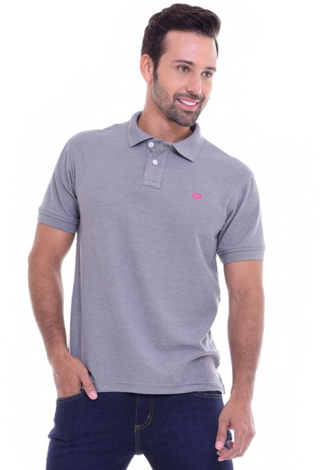 Polo-QUEST-Original-Fit-162010001-Gris-Jaspe-Medio-1