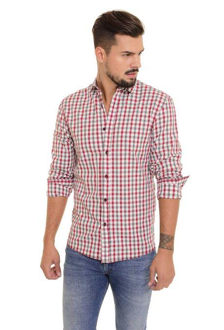 Camisa-QUEST-Slim-Fit-QUE111170098-Vino-Tinto-1