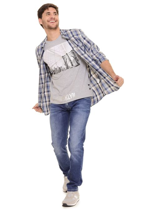 Camisa-QUEST-Original-Fit-QUE111170110-Azul-Oscuro-1
