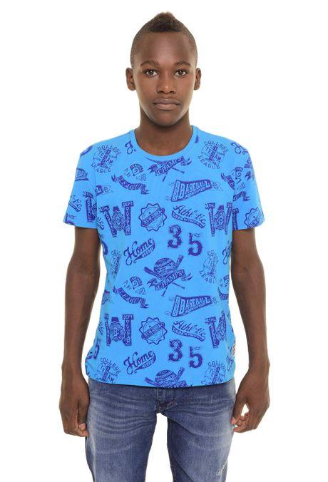 Camiseta-QUEST-QUE363170049-Azul-Turqueza-1