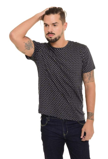 Camiseta-QUEST-Slim-Fit-QUE163170040-Negro-1