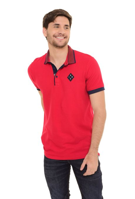 Polo-QUEST-Slim-Fit-QUE162170060-Rojo-1