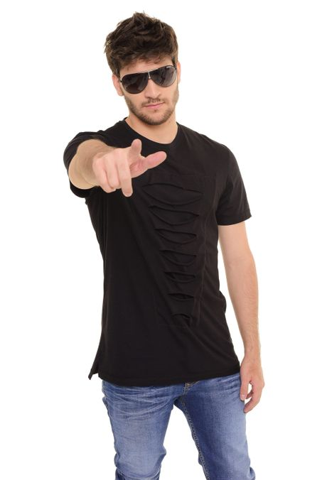Camiseta-QUEST-Slim-Fit-QUE112170158-Negro-1