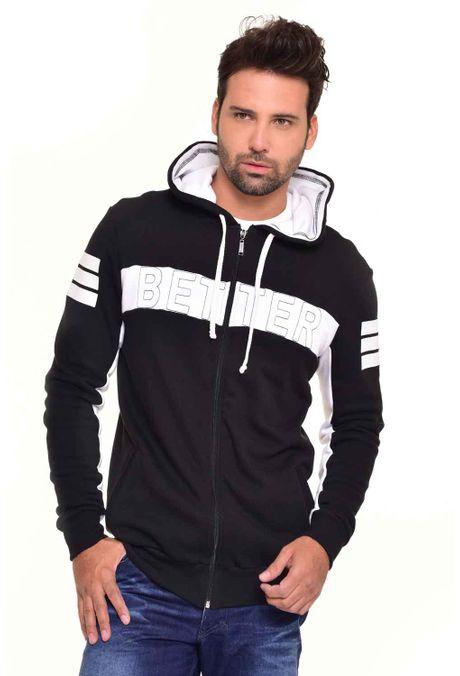 Sweatshirt-QUEST-QUE123170011-Negro-1