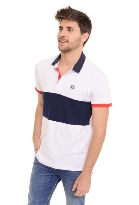 Polo-QUEST-Slim-Fit-QUE162170056-Blanco-1