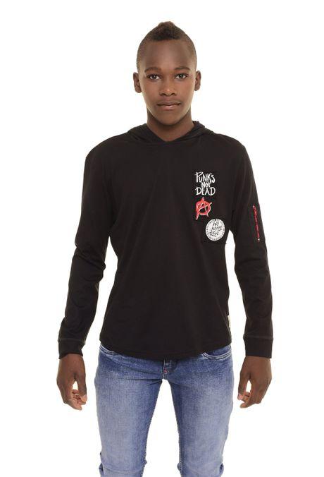 Camiseta-QUEST-QUE312170030-Negro-1