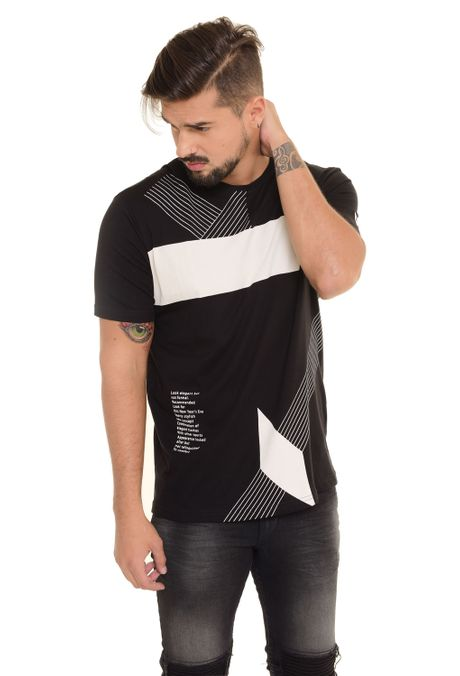 Camiseta-QUEST-Original-Fit-QUE112170125-Negro-1