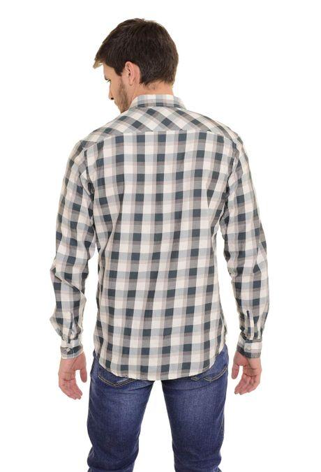 Camisa-QUEST-Slim-Fit-QUE111170101-Verde-Botella-2