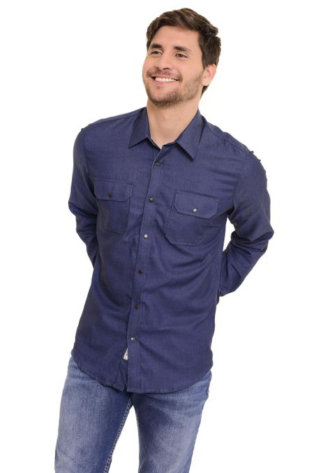 Camisa-QUEST-Slim-Fit-QUE111170112-Azul-Oscuro-1