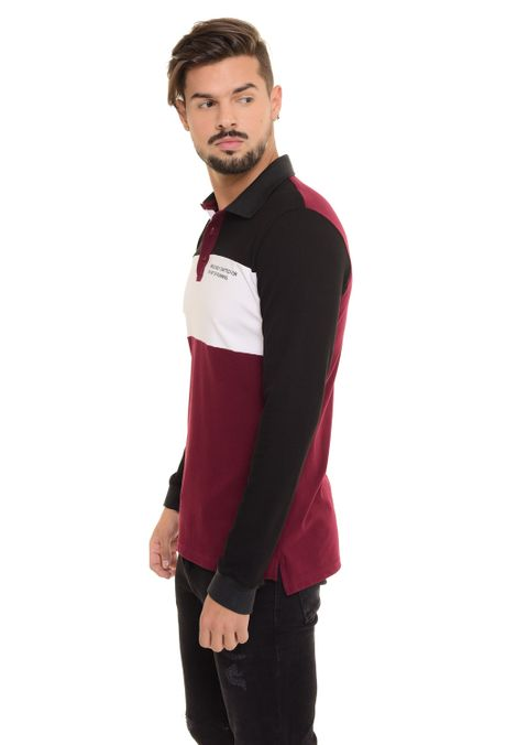 Polo-QUEST-Slim-Fit-QUE162170068-Vino-Tinto-2