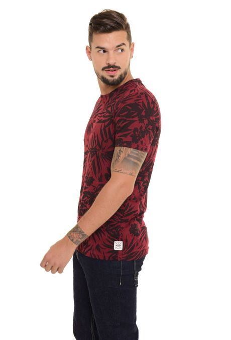 Camiseta-QUEST-Slim-Fit-QUE163170045-Vino-Tinto-2