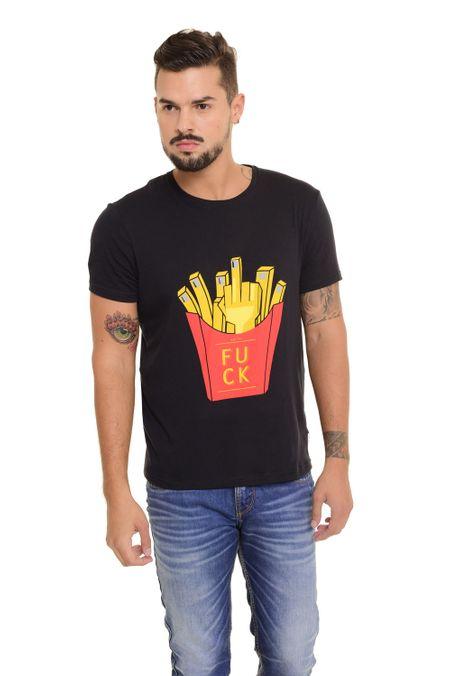 Camiseta-QUEST-Slim-Fit-QUE163170048-Negro-1