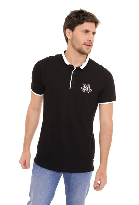 Polo-QUEST-Slim-Fit-QUE162170084-Negro-1