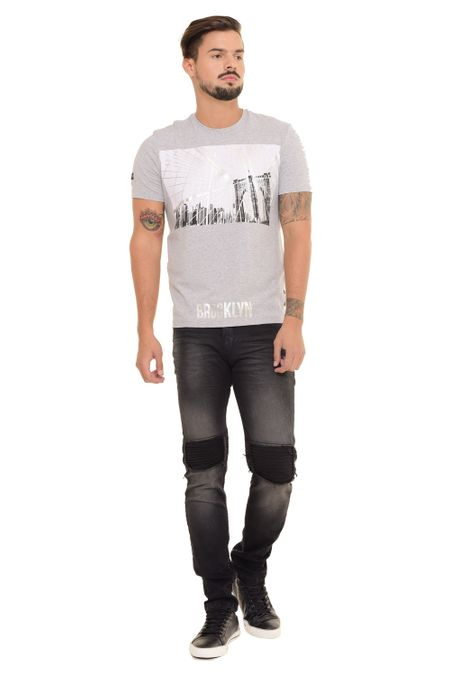 Camiseta-QUEST-Slim-Fit-QUE112170191-Gris-Jaspe-Medio-1