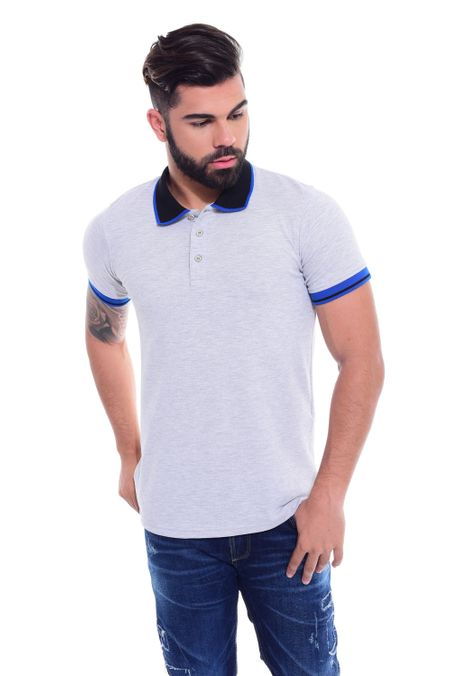 Polo-QUEST-Slim-Fit-QUE162170040-81-Gris-Jaspe-Oscuro-1