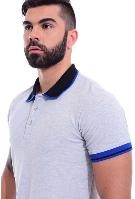 Polo-QUEST-Slim-Fit-QUE162170040-81-Gris-Jaspe-Oscuro-2