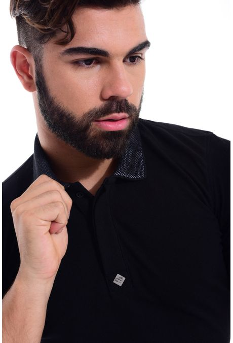 Polo-QUEST-Slim-Fit-QUE162170041-66-Negro-Blanco-2