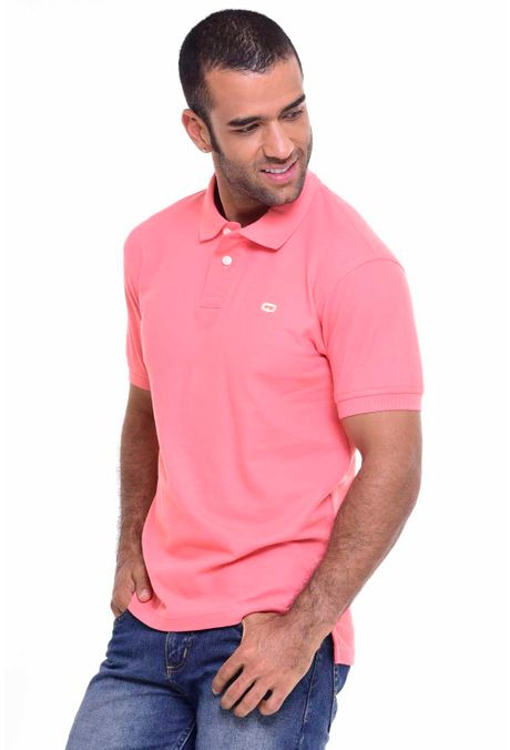 Polo-QUEST-Original-Fit-QUE162010001-82-Melon-1