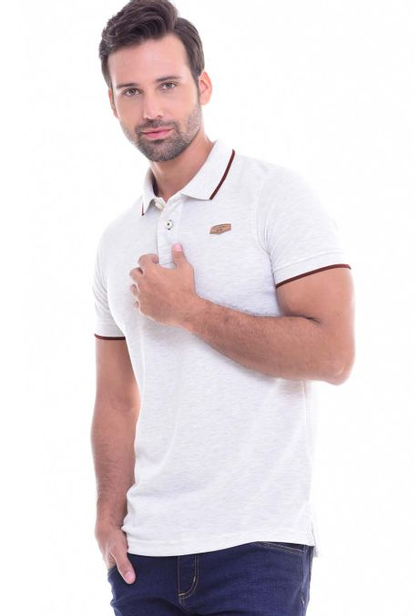 Polo-QUEST-Slim-Fit-QUE162010002-21-Beige-1