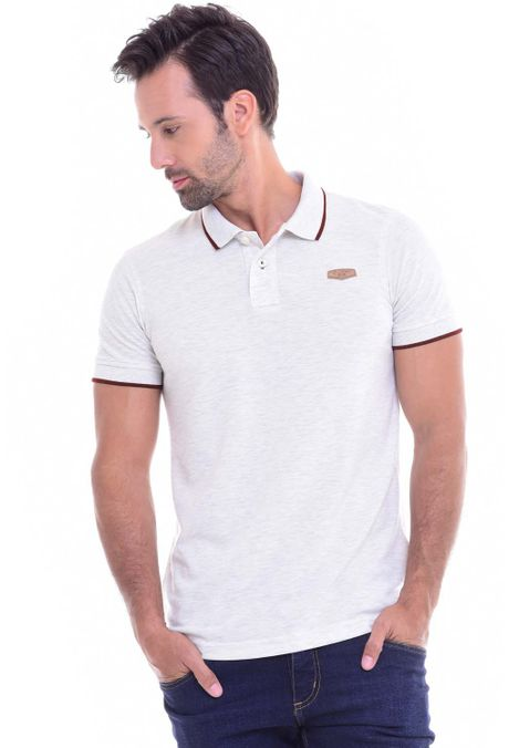 Polo-QUEST-Slim-Fit-QUE162010002-21-Beige-2
