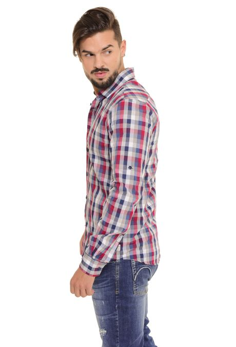 Camisa-QUEST-Slim-Fit-QUE111170103-86-Gris-Jaspe-Medio-2