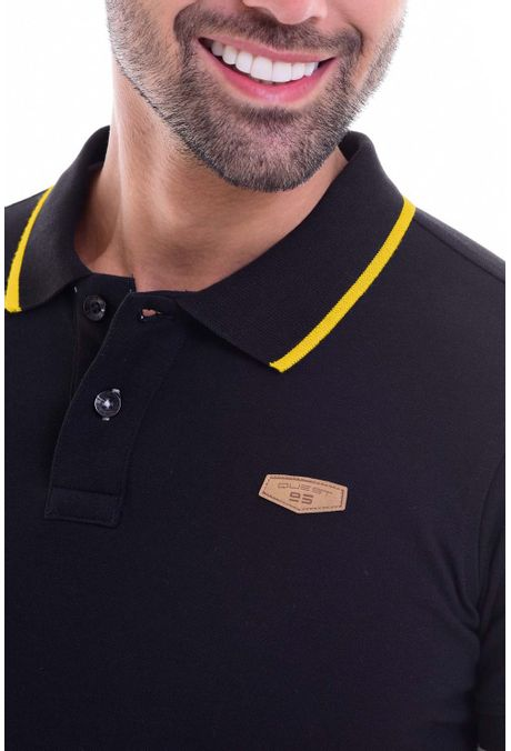 Polo-QUEST-Slim-Fit-QUE162010002-19-Negro-2
