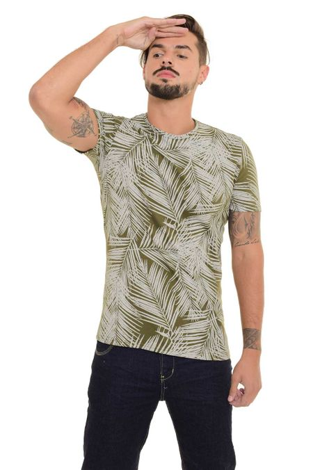 Camiseta-QUEST-Slim-Fit-QUE163170047-Verde-Militar-1