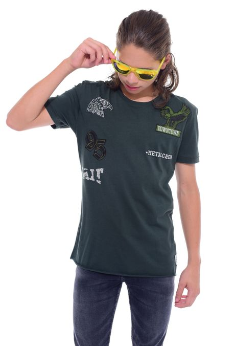 Camiseta-QUEST-QUE312170067-38-Verde-Militar-1