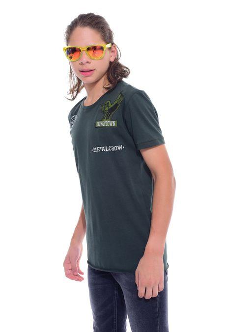 Camiseta-QUEST-QUE312170067-38-Verde-Militar-2