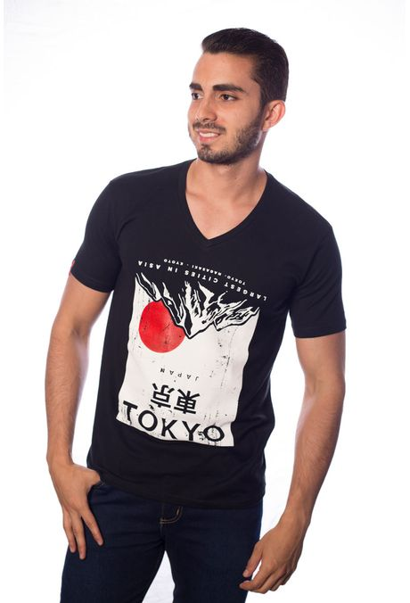 Camiseta-QUEST-QUE163BS0028-19-Negro-1