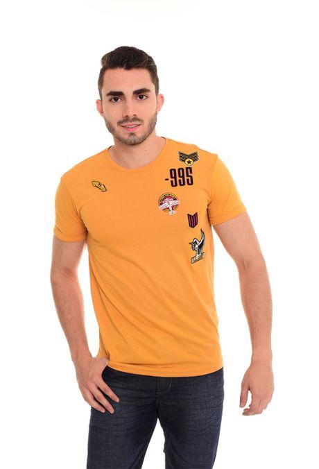Camiseta-QUEST-QUE112180007-50-Mostaza-1